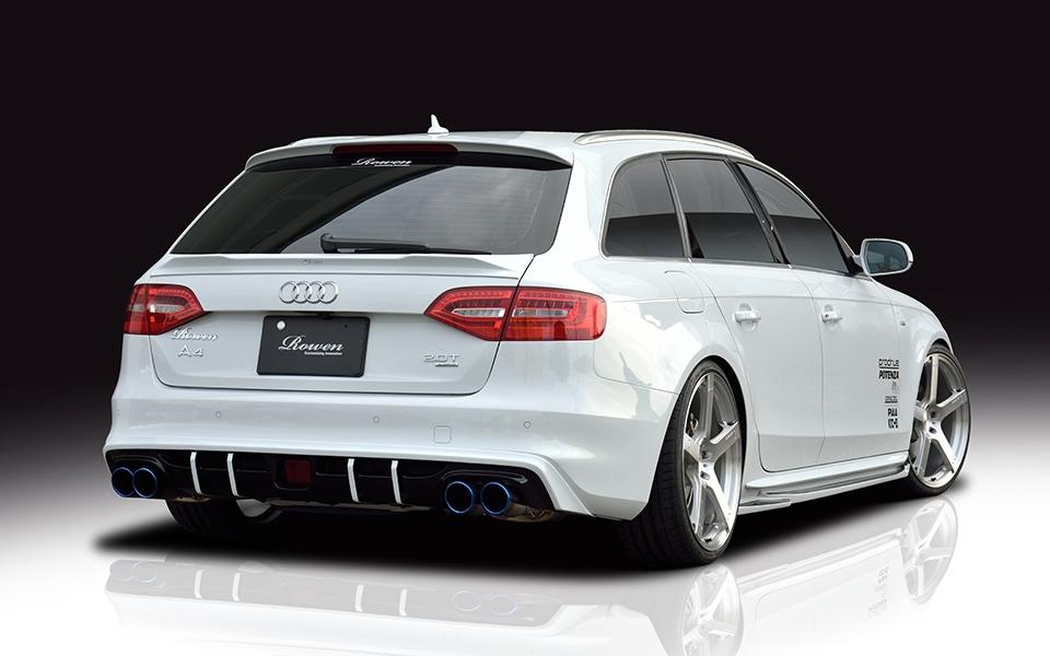 Rowen Audi A4 A4 Avant B8 5 空力套件 碩霖汽車 Mtm 台灣總代理